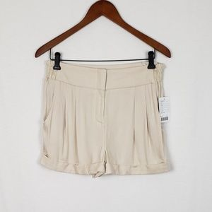Sparkle and Fade Ivory Shorts NWT Size 6